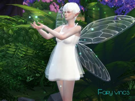 wings sims4 cc the sims resource fairy wings 01 by s club sims 4 downloads