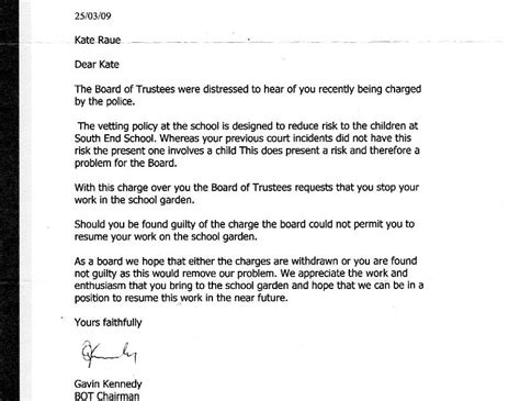 letter of employment ending tenancy letter sle nz sle termination of 1391