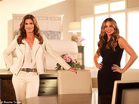 Rooms To Go Hiring by Sofia Vergara And Eye Each Other Up In
