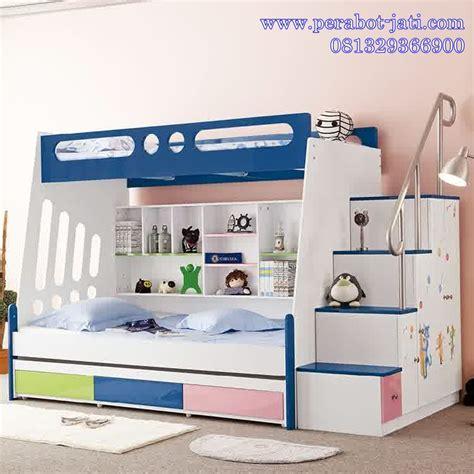 Ranjang Tempat Tidur Anak jual desain tempat tidur tingkat 3 laci untuk anak ranjang tingkat tempat tidur tingkat