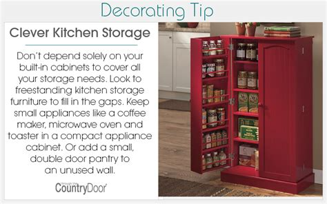 clever kitchen storage ideas country door come home to comfortable living
