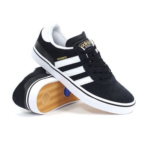 mens skate shoes adidas busenitz vulc black white black s skate shoes
