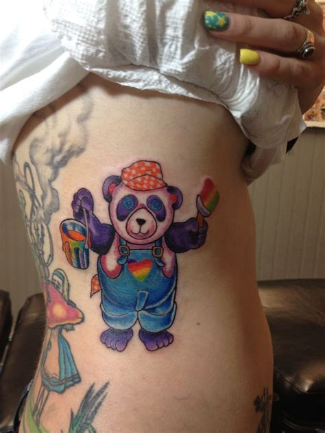 lisa frank tattoo 131 best panda images on panda tattoos