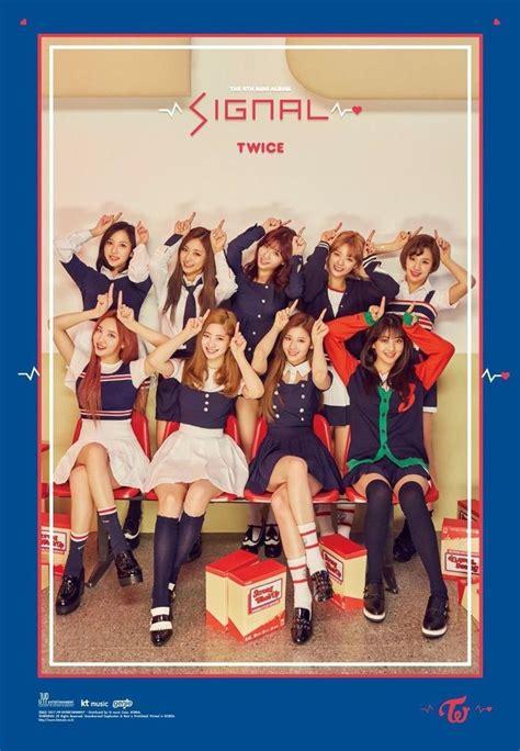 Pre Order Pentagon 4th Mini Album Demo01 트와이스 signal 4th mini album c ver official poster choice la