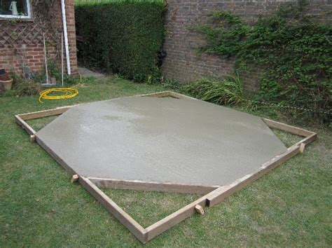Do I Need A Concrete Base For A Shed by To Concrete Or Not To Concrete