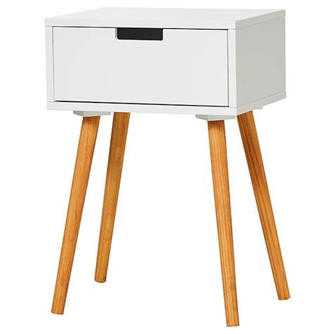 White Side Table With Drawer by Side Table With Drawer White Target Australia
