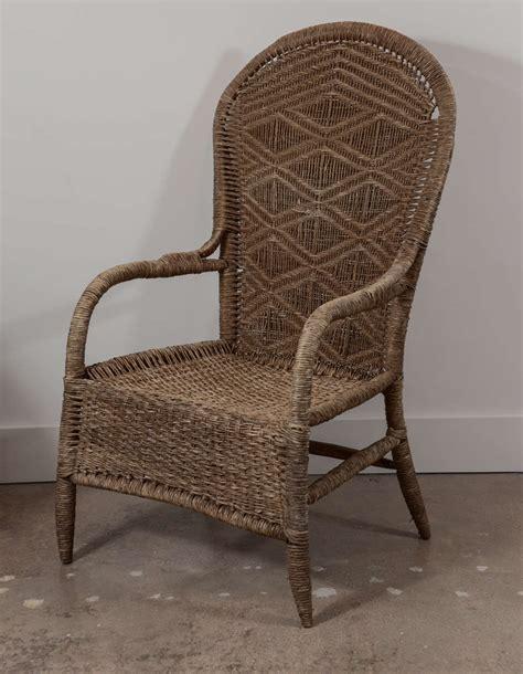 vintage wicker sofa vintage wicker chair at 1stdibs
