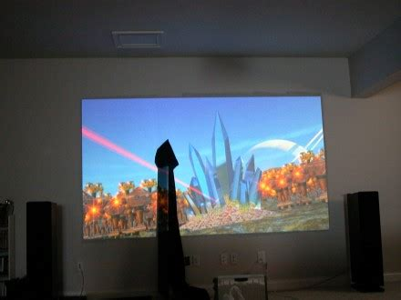 a home theater projector screen for any budget carlton bale
