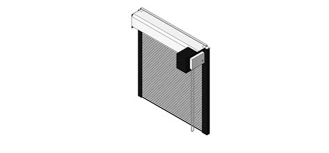 Overhead Coiling Door by Bim Objects Families