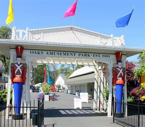 theme park entrance oaks amusement park wikipedia