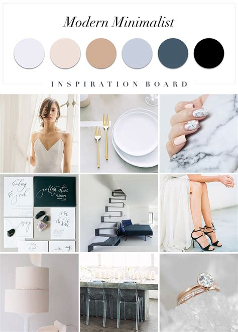 minimal modern a modern minimalist mood board hong kong wedding