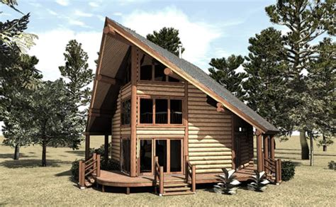 a frame log cabin floor plans small house plans small cottage home plans max fulbright designs