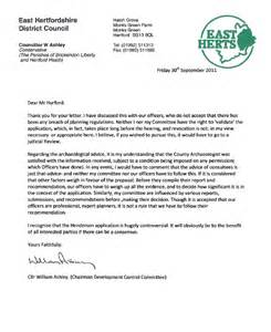 BSCF   Correspondence between BSCF and Cllr Ashley on