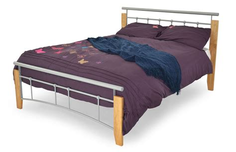 Home Designs Bed Centre Kendal kendall wood metal bedframe