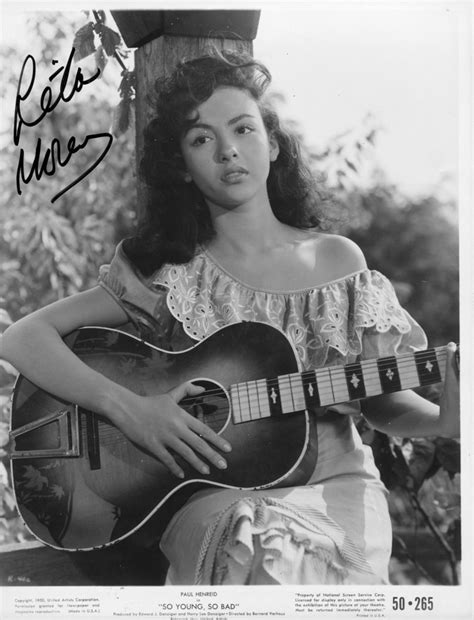 film oscar rico a young rita moreno in her first movie role on film quot so