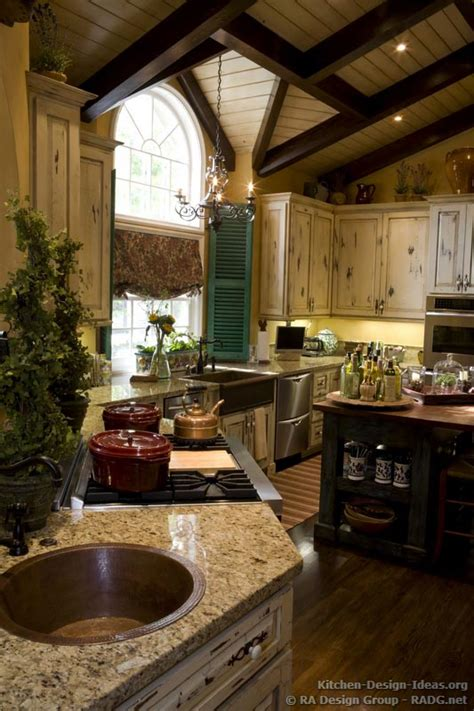 french kitchen ideas country french kitchen cabinets with an antique white