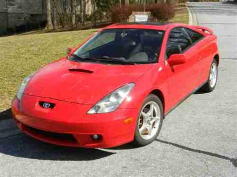 2000 Toyota Celica Mpg Buy Used 2000 Toyota Celica Gts Hatchback 2 Door 1 8l In