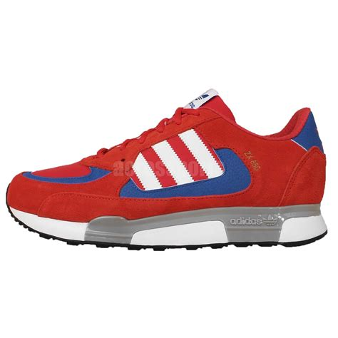 adidas originals zx 850 white blue mens retro running casual shoes b34767 ebay