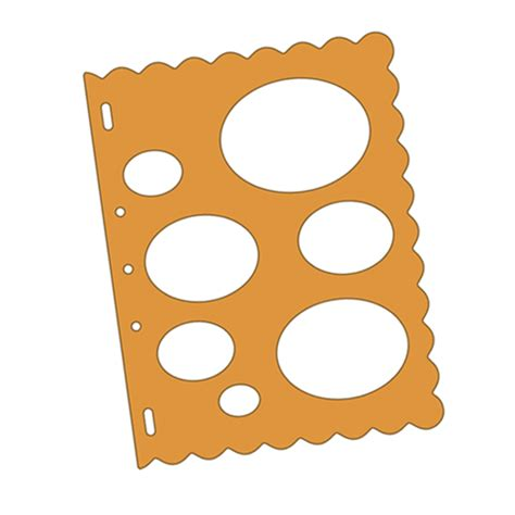 fiskars shape template ovals debbi moore designs