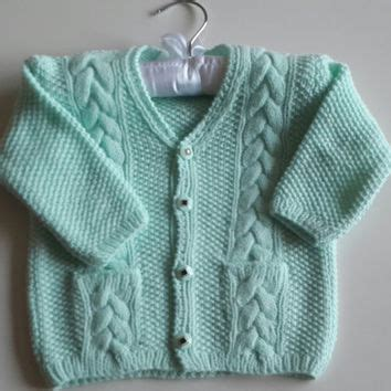 Handmade Wool Baby Clothes - baby handknitting sweater wool from northsknittings on etsy