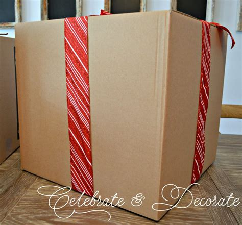 box decorations diy decorations with boxes celebrate decorate