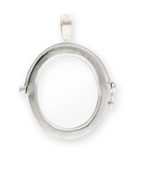 25x28mm sterling silver picture frame pendant wholesale