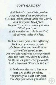 memorial poem  mother roses  heaven