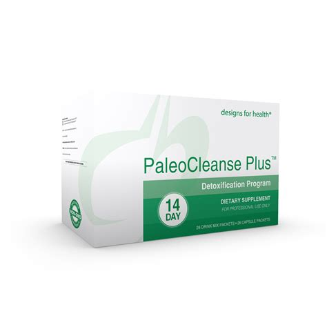 Paleo Cleanse Detox Designs For Health by Buy Paleocleanse Plus 14 Day Detox Program Free Shipping