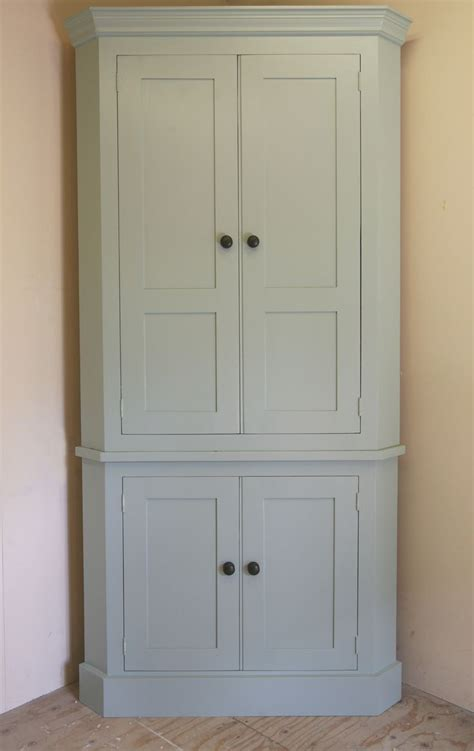 tall corner kitchen cabinet complete your corner with our tall larder corner cupboard