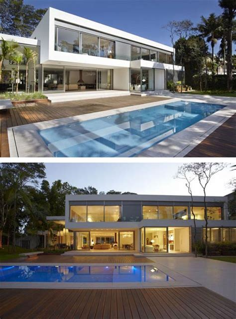 2 story house with pool two story modern house design modern two story house with