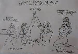 Home Decor Blogs From India women empowerment art drawing by arpana govindam