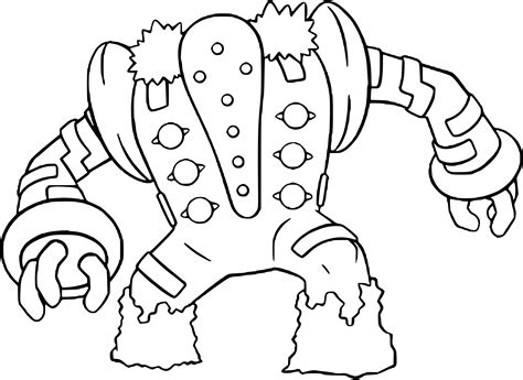pokemon registeel coloring pages pokemon regigigas images pokemon images