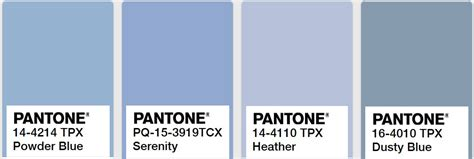 dusty blue color comparing dusty blue powder blue serenity and
