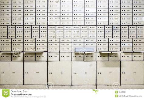 Safety Box Bank Mandiri Antique Safe Deposit Boxes Stock Image Image 10480731
