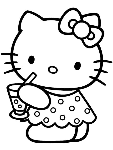animations a 2 z coloring pages of hello kitty