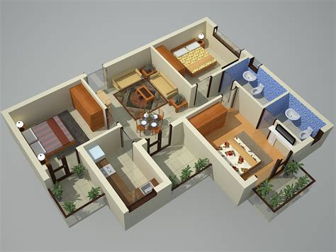 3d View : Earth Infrastructure Noida Extension Residential