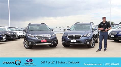 subaru outback 2018 vs 2017 2017 vs 2018 subaru outback what s the difference youtube