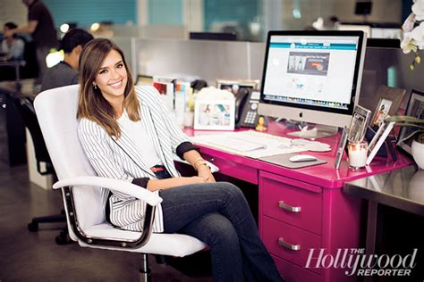 honest office jessica alba s tears on her way to building a 1 billion
