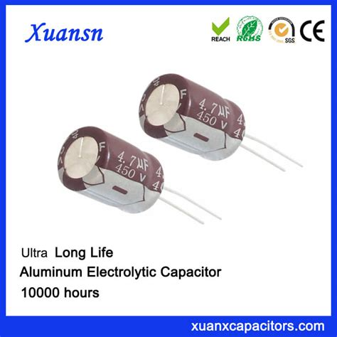 4 7 uf capacitor radial 4 7 uf 450v capacitor electrolytic for led power supply