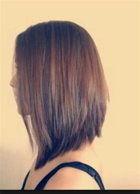 stacked bob haircut long points in front best 25 stacked bob long ideas on pinterest