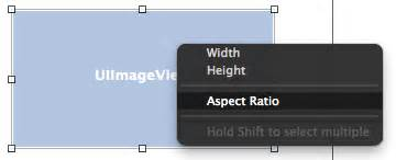 xcode auto layout aspect ratio working with ios 8 auto layout constraints in interface