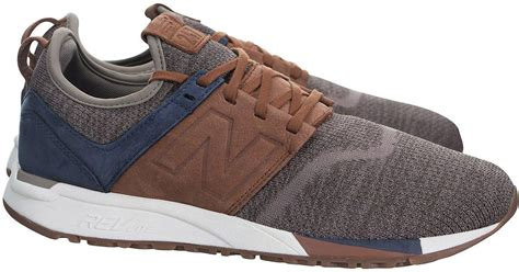 Jual New Balance Brown new balance 247 luxe in brown in brown for lyst