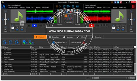 dj audio mixing software free download full version download dj mixer program free full version free aroundprogs