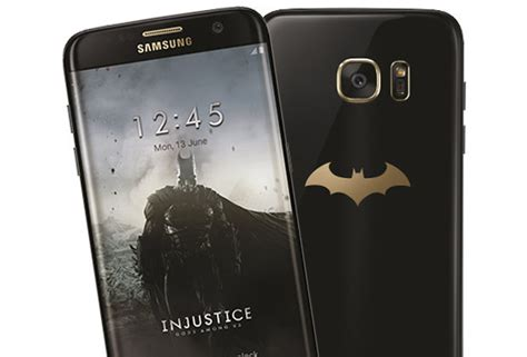 Harga Samsung S7 Limited Edition Batman samsung galaxy s7 edge batman injustice edition release