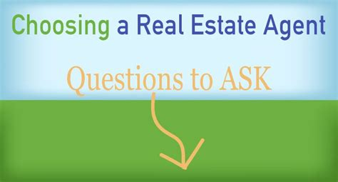 how to choose a realtor to buy a house 10 questions to ask before you choose a real estate agent