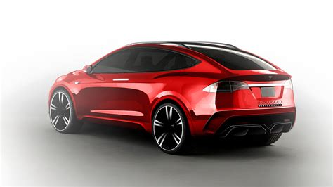 Tesla Model X Suv Unplugged Performance 750 Hp Tesla Model X Suv Concept Debut