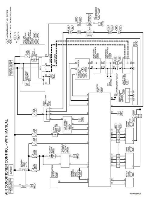 Nissan Sentra Service Manual: Wiring diagram - Manual air