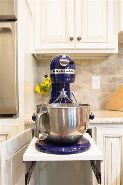 Kitchenaid Mixer Storage Kitchenaid Mixer Storage Idea Contemporary Kitchen