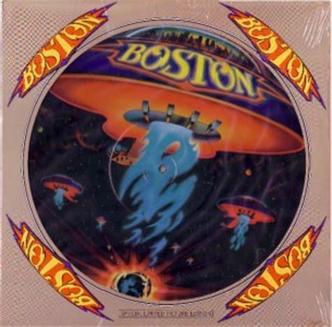 Boston Records Boston Picture Disc Quot Boston Quot Debut Vinyl Record Album Ebay