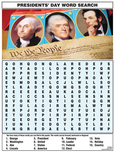 printable word search presidents day word search nie rocks page 2